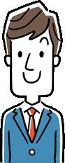 不動産売却の基礎知識を説明する男性
